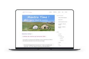 Création de site vitrine WordPress sur le bien-être