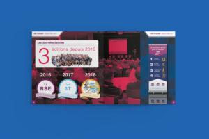 Création d'un rapport RSE de 68 pages - ADC Propreté - Journée des salrariés