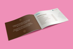 Création d'une brochure de 20 pages pour le AG2R LA MONDIALE - Pages intérieures / Sommaire