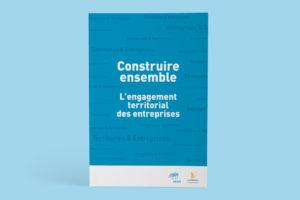 Création d'une brochure de 80 pages pour le MEDEF - Couverture