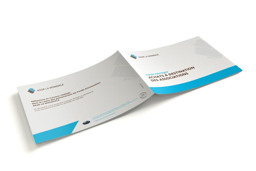 Création d'une brochure de 20 pages pour AG2R LA MONDIALE