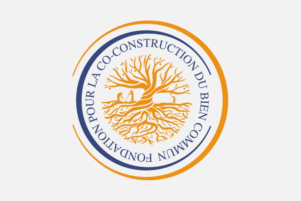 Création de logo pour La Fondation pour la Co-constuction du Bien Commun