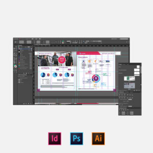 Indesign - Photoshop - Illustrator