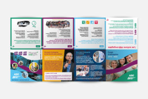 Graphiste freelance - Création de dépliant à Nantes