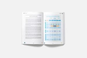 Création d'une brochure de 124 pages pour AG2R LA MONDIALE