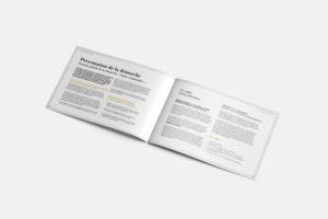Création d'une brochure de 32 pages