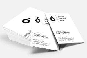 Création de cartes de visite professionnelles