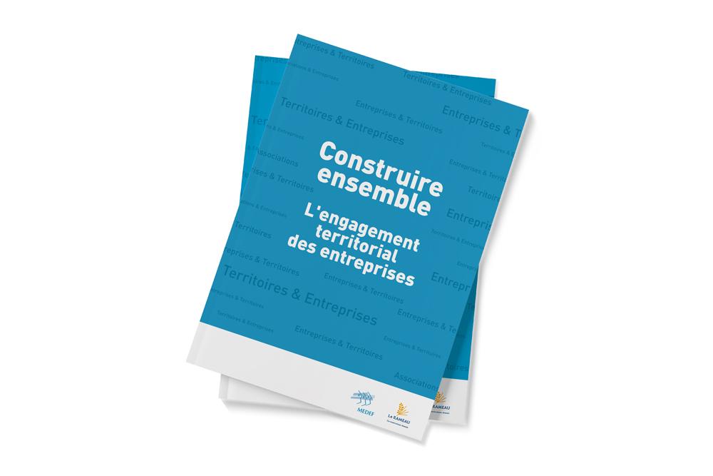 Création d'une brochure de 80 pages pour le MEDEF