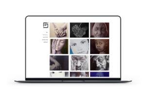 Création d'un site portfolio pour un illustrateur nantais