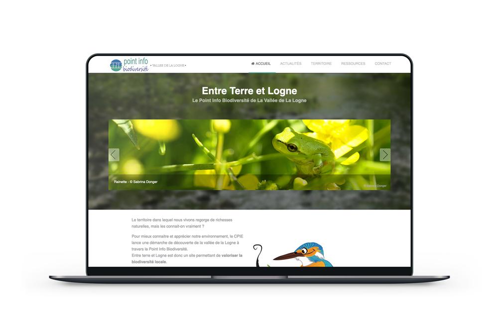 Création d'un site web pour un CPIE