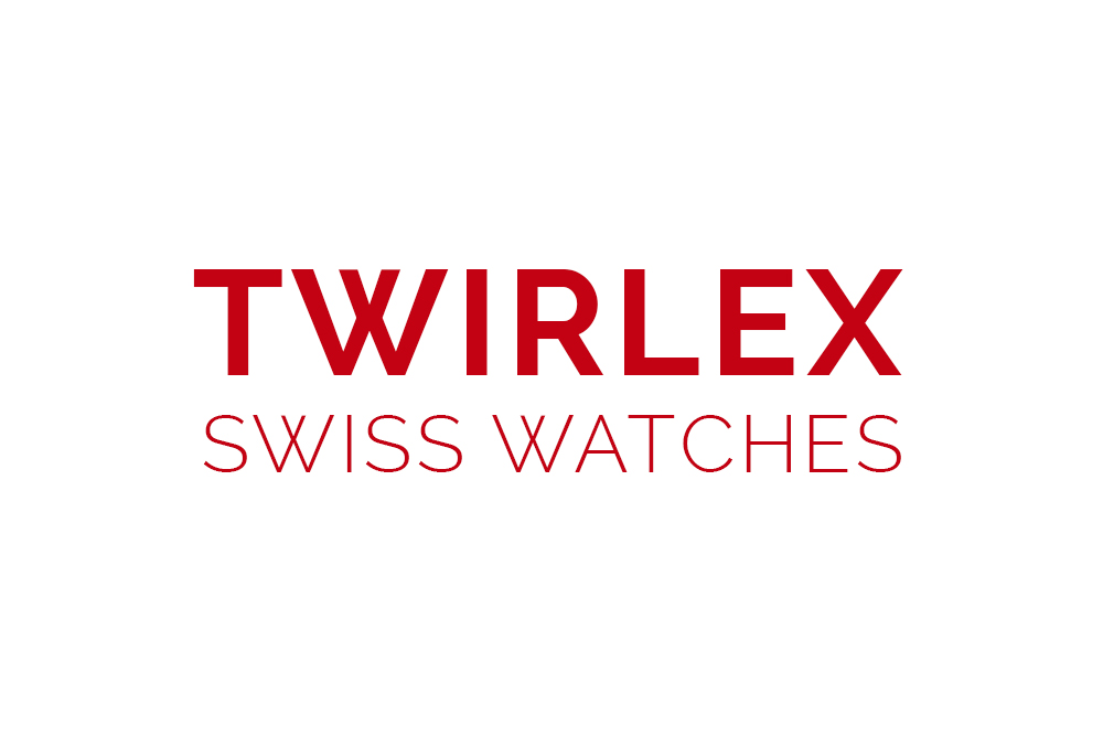 Logo Twirlex pour une marque de montre de luxe Suisse