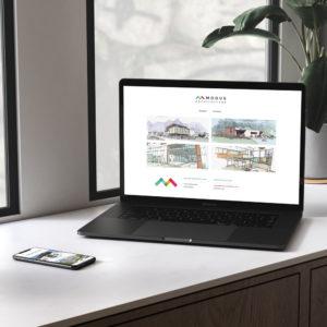 Création d'un site WordPress portfolio pour un architecte DPLG à Nantes