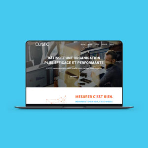 Création d'un site vitrine pour un site spécialisé en mesure d'impacts et QVT