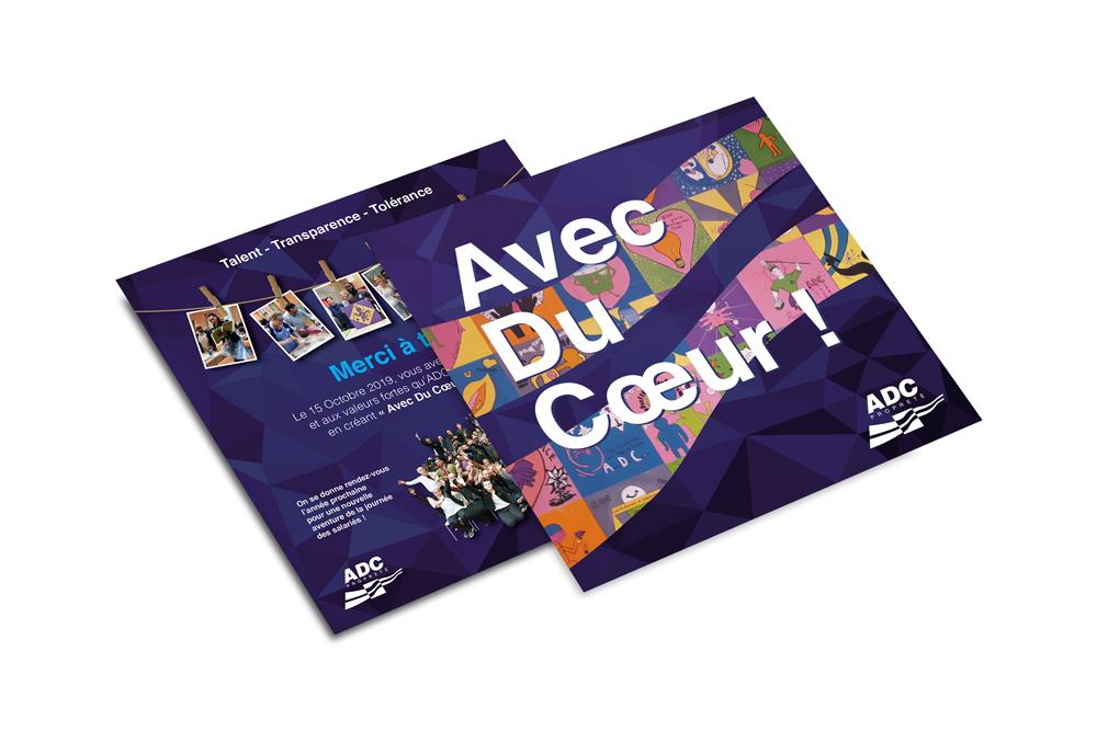 Création de flyer à Nantes