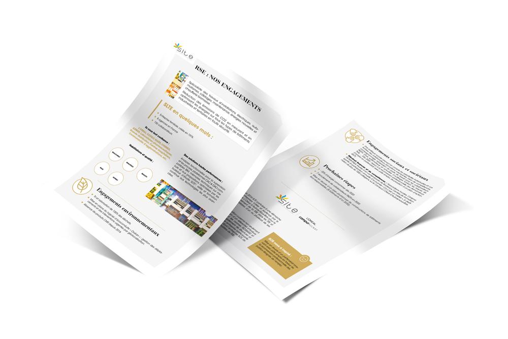 Réalisation de fiches pratiques sur l'engagement RSE des entreprises du bâtiment