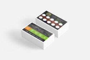 Graphiste freelance à Nantes - Création de cartes de fidélité pour un food truck