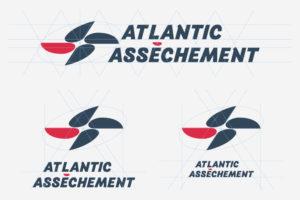 Création de logo à Nantes - Atlantic Assèchement