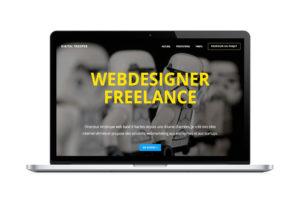 Création de site one page