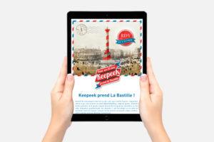 Création d'emailing à Nantes
