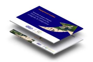 Slides de présentation Powerpoint avec infographies vectorielles