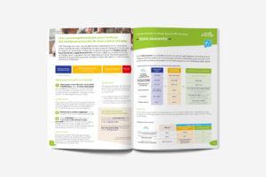 Création de brochure A5