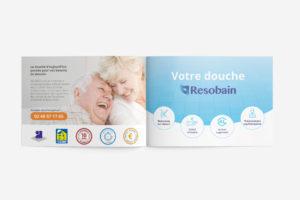 Création de brochures à Nantess