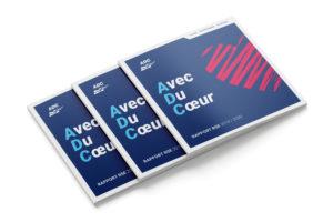 Création d'une brochure carré à Nantes