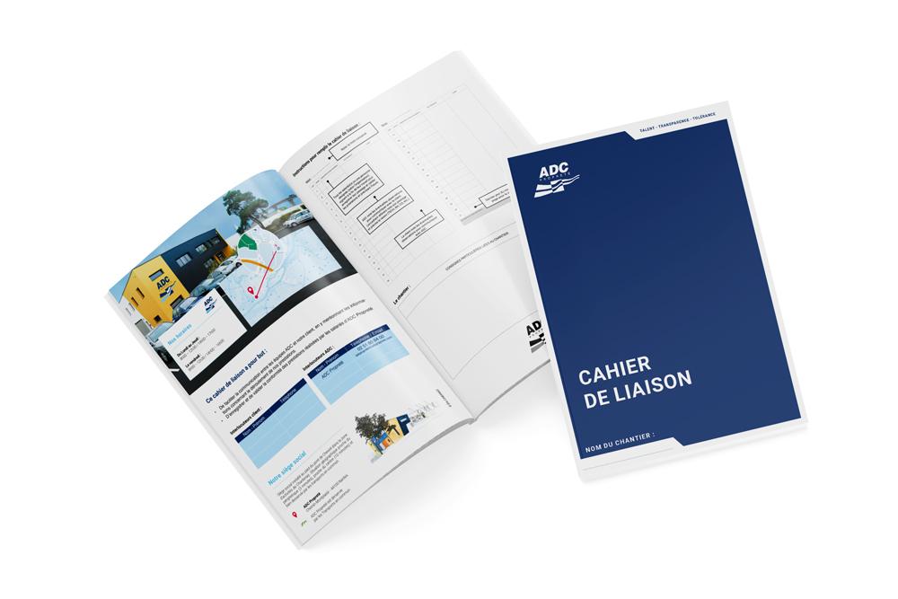 Création d'une brochure de 32 pages au format A4